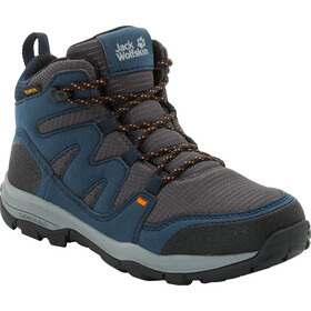 Jack Wolfskin MTN Attack 3 Texapore Mid Kengät Lapset, night blue